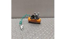 Компрессор автомобильный в автомастерскую для антуража в масштабе 1:43