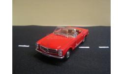 Mercedes-Benz 280 SL (W113) Cabrio от производителя Cararama/Hongwell в масштабе 1:43, масштабная модель, 1/43, Bauer/Cararama/Hongwell