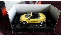 Peugeot 206 CC от производителя Cararama/Hongwell, масштабная модель, scale43, Bauer/Cararama/Hongwell