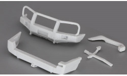 Сборная модель (Кит) Комплект для внедорожного тюнинга (бампера, шноркель)для УАЗ Патриот,UAZ Patriot от Gorky Models в масштабе 1:43