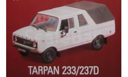 Автолегенды СССР и Соцстран №157 TARPAN 237, масштабная модель, scale43