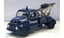 Полицейские Машины Мира №65 - Fiat 615 Carabinieri, масштабная модель, 1:43, 1/43