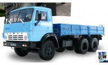 Автолегенды СССР Грузовики №24 - КамАЗ-5320, масштабная модель, scale43