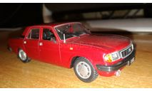 Автолегенды СССР №104 ГАЗ-31029 'Волга', масштабная модель, scale43