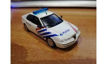 Полицейские Машины Мира №49 - Alfa Romeo 156, масштабная модель, scale0
