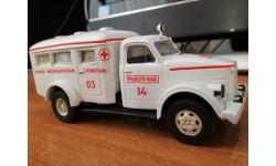 ПАЗ-651 (Газ-51) мед помощь, масштабная модель, ручная работа, scale43