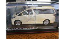 Toyota Alphard 350S, масштабная модель, Kyosho, 1:43, 1/43