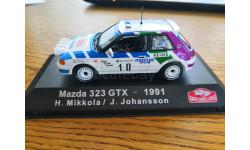 Mazda 323 GTX  1991, масштабная модель, Atlas, 1:43, 1/43