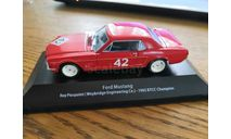 Ford Mustang  1965 sport, масштабная модель, Atlas, scale43