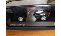 BMW 2 (F22)black, масштабная модель, scale43