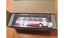 ЛАЗ-695Е автобус бело-красный Classicbus, масштабная модель, scale43
