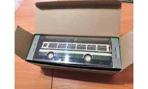 ЛиАЗ 677 бежево-зеленый (первый выпуск). Classicbus  автобус, масштабная модель, scale43