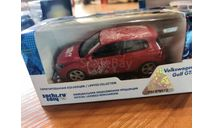 Олимпиада Сочи масштаб 1:44 VW GOLF GTI, масштабная модель, Volkswagen, scale0