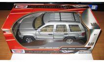 Jeep Grand Cherokee (WJ), масштабная модель, MotorMax, scale18
