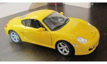 Porsche Cayman S  1:18, масштабная модель, Welly, scale18