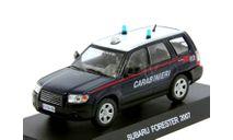 Subaru Forester 2007 Carabinieri, масштабная модель, scale43