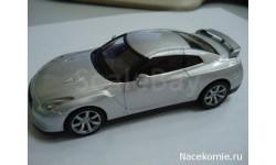 Суперкары №18 Nissan GT-R, масштабная модель, scale43