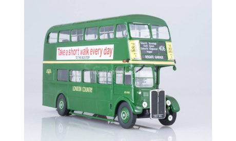 Aec Regent III RT London Country, масштабная модель, Bus Collection (IXO Models for Hachette), scale43