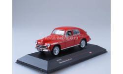 Warszawa 201 - dark red 1960, масштабная модель, 1:43, 1/43
