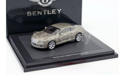Bentley Continental GT (Liquid Mercury), масштабная модель, scale43