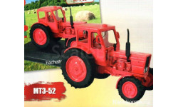 Тракторы №33 - МТЗ-52 'Беларусь', масштабная модель трактора, scale43