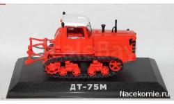 Тракторы №42 - ДТ-75 первого поколения, масштабная модель трактора, scale43
