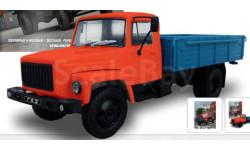 Автолегенды СССР Грузовики №21 - ГАЗ-3309, масштабная модель, scale0