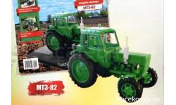 Тракторы №29 - МТЗ-82 'Беларусь', масштабная модель трактора, scale43