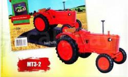 Тракторы №13 - МТЗ-2, масштабная модель трактора, scale0