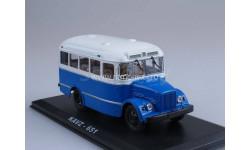 КАВЗ-651 синий, масштабная модель, 1:43, 1/43