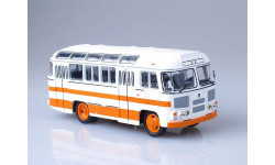 ПАЗ-672М (бело-оранжевый), масштабная модель, 1:43, 1/43