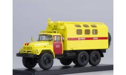 ЗИЛ-131 кунг аварийная служба, масштабная модель, scale43