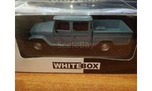 Toyota Land Cruiser Bandeirante Pick Up 1976, масштабная модель, WhiteBox, scale43