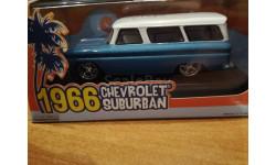 Chevrolet Suburban 1966, масштабная модель, Greenlight Collectibles, scale43