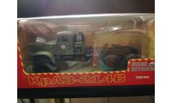 КрАЗ-214В (6х6) тягач, хаки 1:43 - Наш автопром, масштабная модель