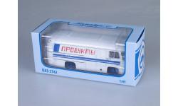 ПАЗ-3742 рефрижератор 'Продукты', масштабная модель, Советский Автобус, 1:43, 1/43