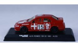 1:43 ALFA ROMEO 155 Alesi 1993 год, масштабная модель, Top Model, 1/43