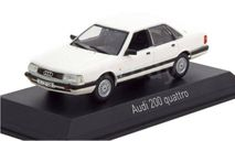 AUDI 100 C3 200 Quattro 1987 - 1991 год 1:43, масштабная модель, Norev, 1/43