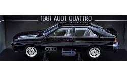 Audi Quattro Black Edition 1981 год - Все открывается!