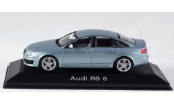 1:43 AUDI RS 6 - Minichamps в дилерском боксе Audi!