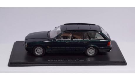 1:43 BMW 5-series 530i кузов E34 Touring (Универсал) - NEO Scale Models, масштабная модель, 1/43