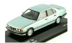 BMW 7 series E32 1986 год MINICHAMPS 1:43