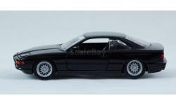 BMW 8-series 850 E31 1:43 Schabak - все открывается! Черный цвет!