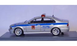 1:43 BMW 5-series 525i E39 - ДПС Милиция Москва 7-й отдел Полиция, масштабная модель, scale43, Neo Scale Models