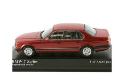 1:43 BMW 7-series 7 серия кузов E32 - 1986 год