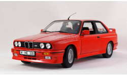 BMW M3 E30 - 1:18 MINICHAMPS - все открывается, руль поворачивает колеса!
