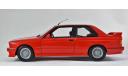 BMW 3-series M3 E30 - 1:18 MINICHAMPS - все открывается, руль поворачивает колеса!, масштабная модель, 1/18