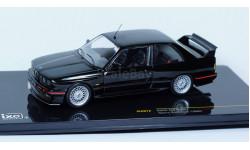 1:43 BMW 3-series M3 E30 Sport Evolution Black 1990 год - Шикарная модель!