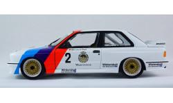 BMW E30 M3 Sport 3-series MINICHAMPS 1:18 - все открывается, руль поворачивает колеса!