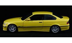 BMW M3 E36 Coupe 3-series 1:18 - все открывается